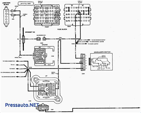 1995 chevy silverado convenience center wiring diagrams