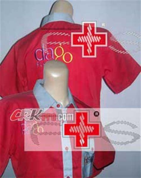 Bordir Kemeja baju bordir busana pakaian bordir kemeja promosi seragam