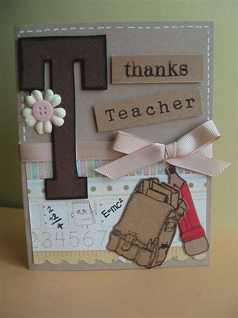 Handmade Birthday Cards For Teachers - best 25 handmade teachers day cards ideas on