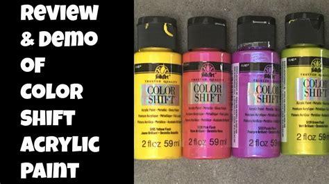 folk colors color shift folk paint review demo