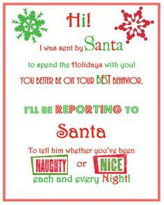 On The Shelf Last Note by Letter From Santa Letters And Elves On
