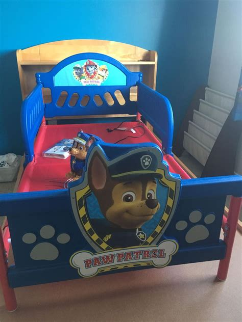 paw patrol bed find more paw patrol toddler bedroom set for sale at up to