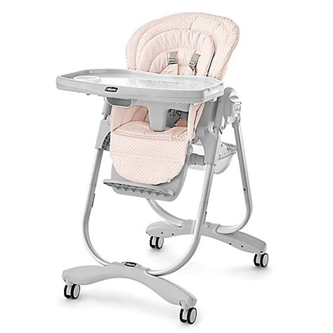 chicco polly magic baby high chair chicco 174 polly magic high chair in lilla buybuy baby