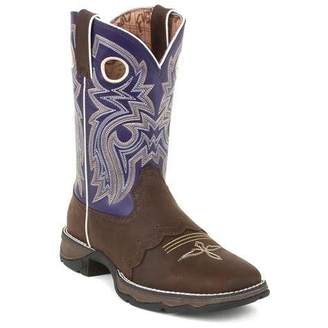 womans western boots s 10 quot durango 174 saddle lace western boots 219837