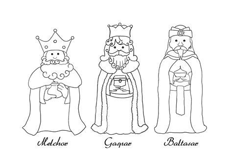 imagenes para pintar reyes magos dibujos de los reyes magos para imprimir y pintar