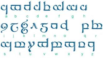 l language la langue elfique