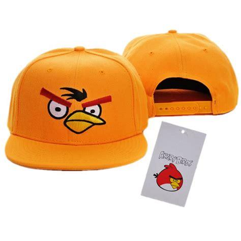 Snapback Angry Logo angry birds youth baseball snapback hats yellow wholesale 1003 8 00