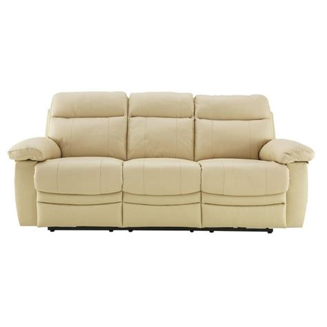argos recliner sofa buy collection new paolo 3 seater power recliner sofa