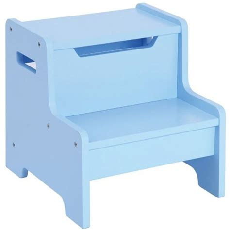 Guidecraft Expressions Step Stool by Guidecraft Expressions Step Stool Light Blue G87606