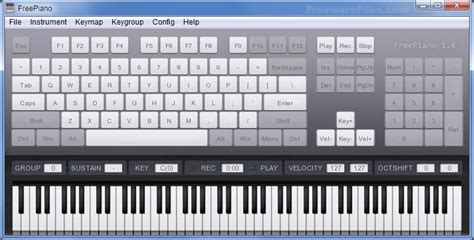 Keyboard Piano For Pc freepiano 2 2 2 1 free freewarefiles audio category