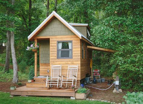 craftsman cabin tiny craftsman bungalow best tiny homes of the year