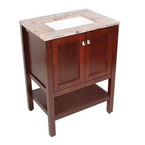 Sydney Vanity by St Paul Sydney 26 In Vanity In Cherry With