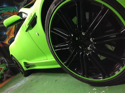lime green aston foto tuners dartz aston martin db9 mansory lime green