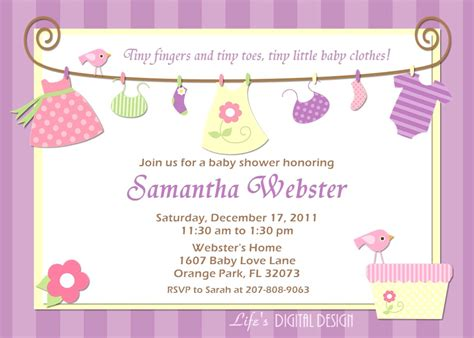 Sle Invitation Baby Shower Choice Image Invitation Sle And Invitation Design Baby Shower Design Templates