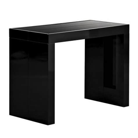 table console extensible ikea table console extensible ikea noir