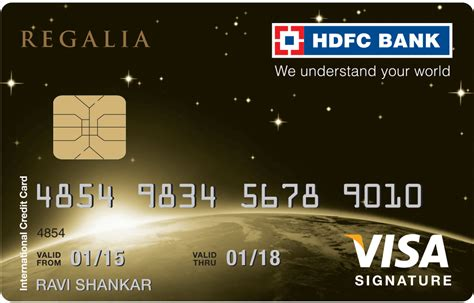Credit Card Form Hdfc Hdfc Credit Card Application