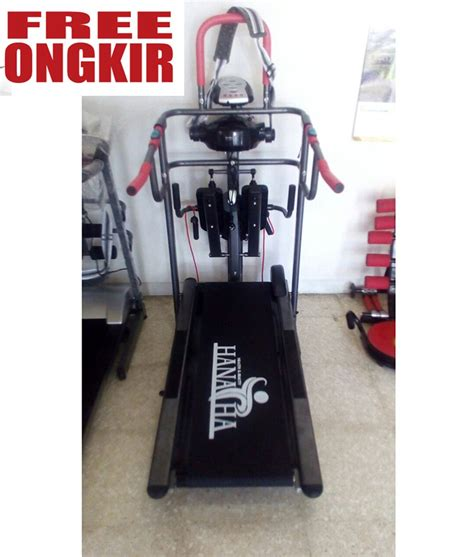 Treadmil Manual 6 Fungsi jual treadmill manual 6 fungsi hanatha di lapak