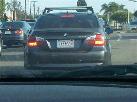 Bmw Vanity License Plates by 12 Best Images About Silly License Plates On