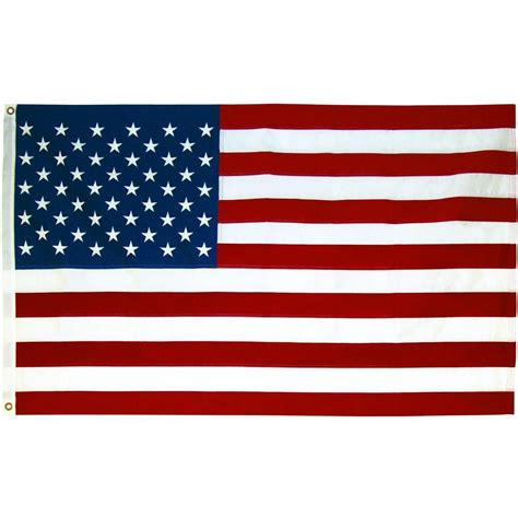 seasonal designs 3 ft x 5 ft u s flag rf3n the home depot