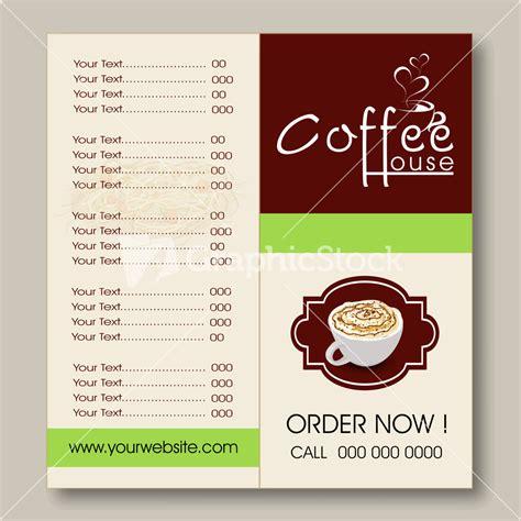 menu card design for cafe restaurant menu card design