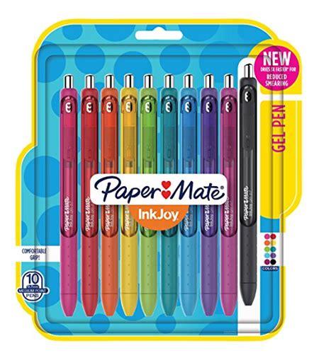 paper mate inkjoy gel pens medium point count