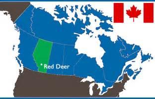 map deer alberta canada our location deer catholic international student
