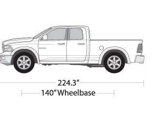 dodge ram 1500 vehicle wrap templates