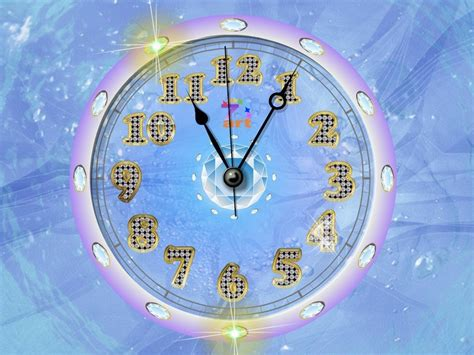 clock themes for pc desktop working clock wallpaper for desktop wallpapersafari