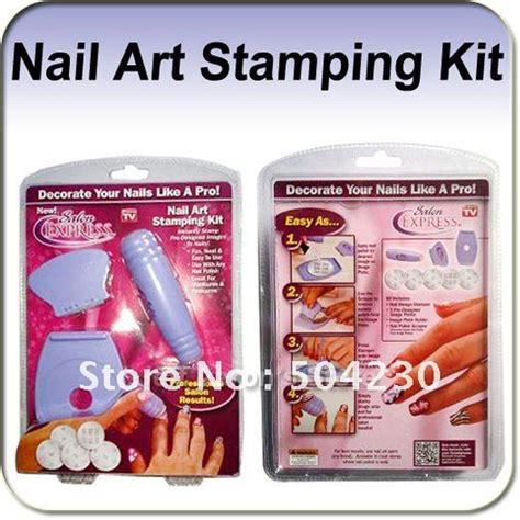 nail design maker as seen on tv aliexpress com buy new salon express nail art kit