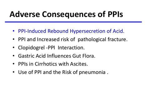Ppi Detox by Proton Inhibitors