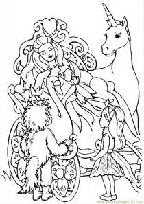 unicorn and princess coloring pages az coloring pages