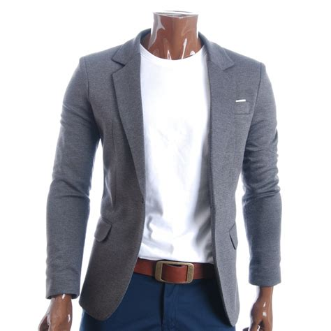 blazer casual blazer grey blazer mens casual