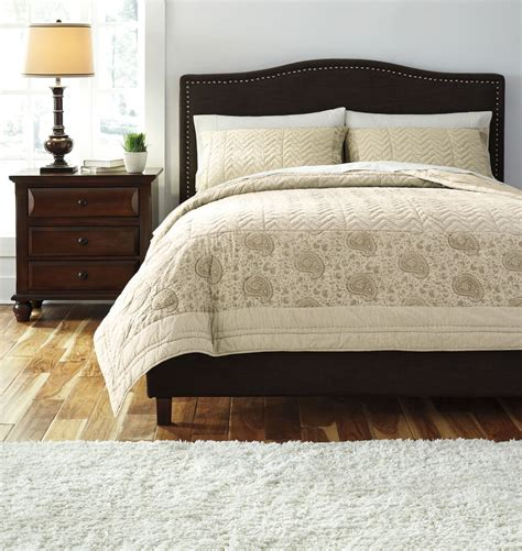 paisley queen comforter paisley queen comforter set from ashley q457003q