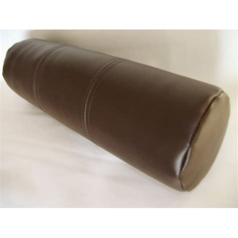 bolster cusions faux leather bolster cushion brown bolster filler