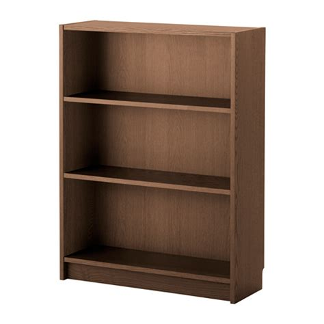 billy bookcase brown ash veneer 80x28x106 cm ikea