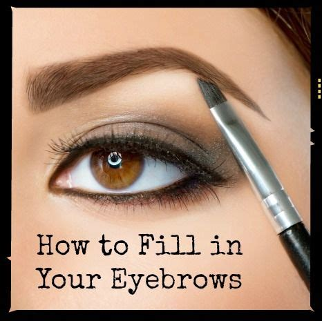 how to fill thin hair lines how to fill in your eyebrows like a pro maquillaje