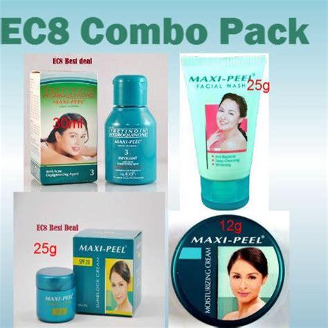 Toner Maxi Peel 1 maxi peel 3 exfoliant anti acne toner whitening combo skin care acne