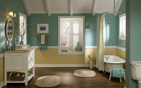 paint for bathrooms ideas top bathroom colors half bath afters navy bathroom most