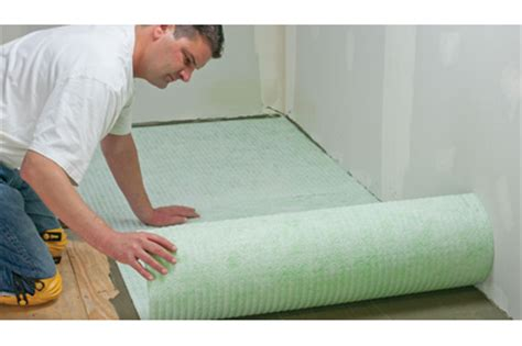 spiderweb ii uncoupling mat by custom building products