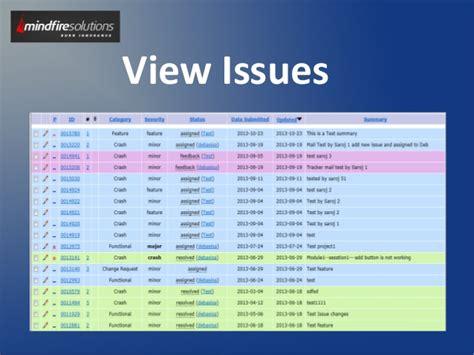 mantis workflow mantis bug tracker task management system