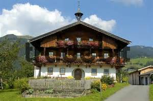 Small Traditional House Design In Tirol Austria by Traditional Colourful Decorated Farmers House In Koessen