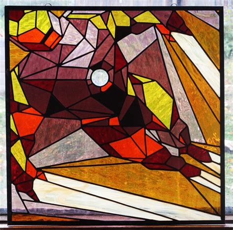 stained glass iron man version tripperfunster