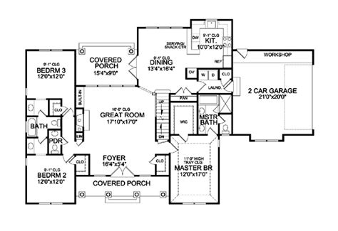 sagamore hill floor plan holly hill 9233 3 bedrooms and 2 baths the house designers