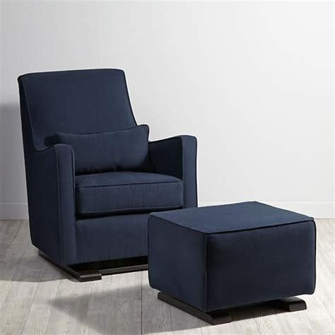 navy blue glider and ottoman the s catalog of ideas