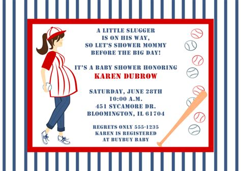 baseball baby shower invitation templates baseball to be baby shower invitations