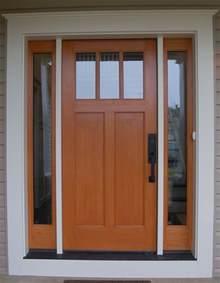 Craftsman Front Doors Quaker Craftsman Front Door Custom Home Exteriors