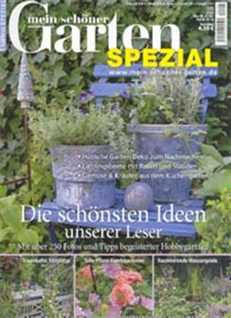 Mein Schöner Garten Spezial by Tilaa Mein Sch 246 Ner Garten Spezial Tarjoushintaan