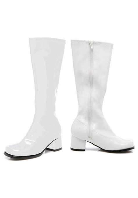 gogo boots toddler white gogo boots
