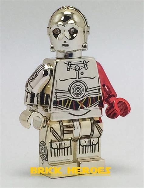 C3po Arm Minifigure Starwars custom lego wars awakens minifigure chrome gold