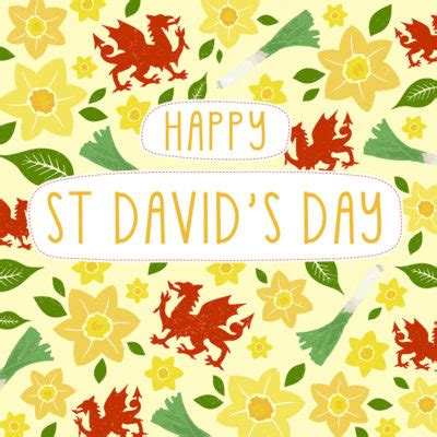 Church For St Davids Day by St David S Day Greeting Cards By Davora